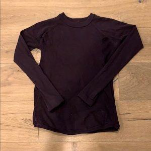 Lululemon Eggplant Purple Sweater Size 6
